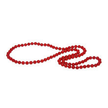 Coral Bead Endless Necklace