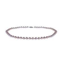 Oriental Grey Pearl Strand: 6.5-7mm Diameter