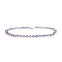 Oriental Grey Pearl Strand: 7-7.5mm Diameter