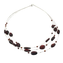 Cherry Amber Necklace on Strings