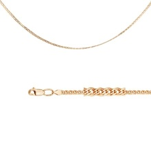 Nonna-link Chain (0.5 mm Gold Wires)