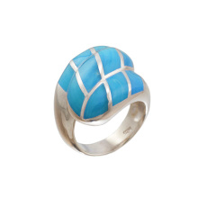 Turquoise Statement Silver Ring