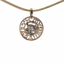 Taurus Zodiac Filigree Astral Decor Pendant
