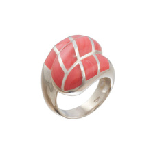 Coral Statement Ring