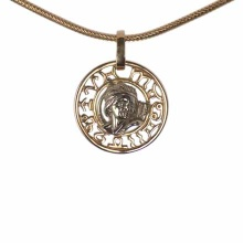 Sagittarius Zodiac Filigree Decor Pendant