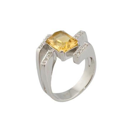 Citrine ring from Armenia