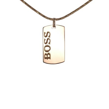Rose gold pendant Boss