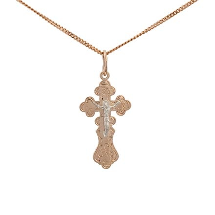 Orthodox cross and crucifix