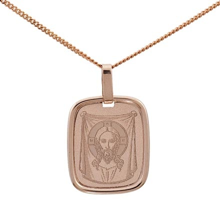 Gold Icon of the Lord Jesus Christ. Savior (Spas) Not Made By Hands