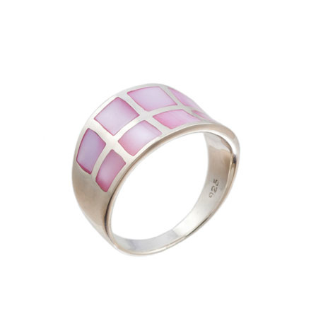 Mother-of-pearl band on sale