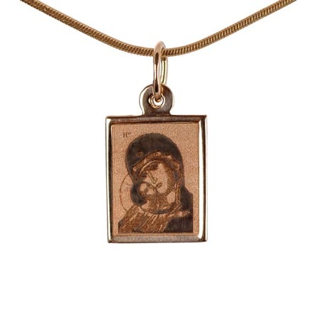 Body Gold Icon: The Mother of God Eleousa