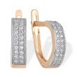 CZ Pave Earrings. Urban Style Earrings