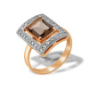 Baguette Rauh Topaz and Diamond Ring