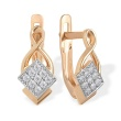 Pave CZ Earrings