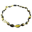 Green Amber Contemporary Necklace