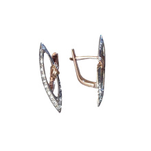 CZ Marquise-shaped Earrings