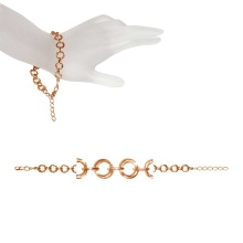 Barcelona-link Adjustable Hollow Bracelet