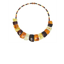 Lithuanian amber necklace