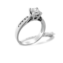 1.01 Carat Princess-cut Diamond Ring. A True Love Symbol