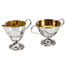 Silver Tea Set 'Amalia': Sugar Bowl & Creamer