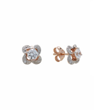Swarovski CZ Stud Earrings