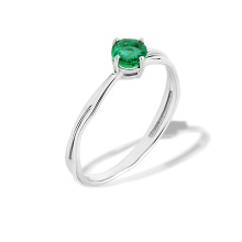 Emerald Anniversary Ring. Be different-Be Yourself. 'Millennials' Series