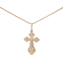 Orthodox Cross-Crucifix Pendant