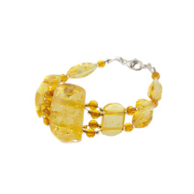 Sunny Amber Bracelet. Made in Lithuania