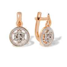 Roman Epoch-inspired Diamond Earrings