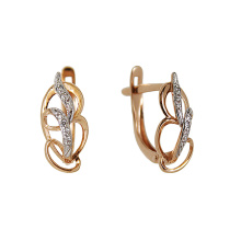 Art Nouveau Design Earrings