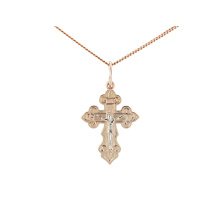 Orthodox Passion Cross. Eastern Style Body Crucifix
