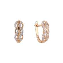 CZ Mesh Earrings
