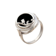 Whimsy Ring With Black Onyx