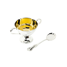 Silver Sugar Bowl and Silver Sugar Spoon. 'A Sweet Tooth' Tea Set