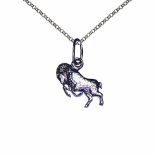 Aries Silver Sculpture Pendant