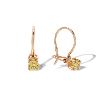 Colored CZ Earrings