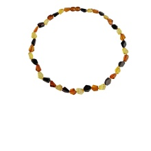 Geometric Amber Necklace