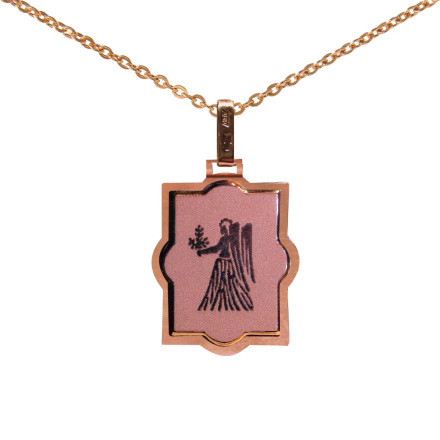 Virgo (August 23 - September 22) Zodiac Pendant