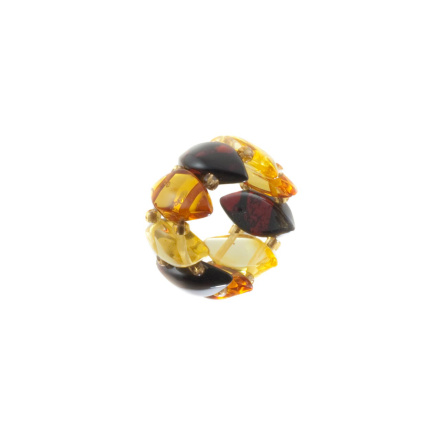 Stretch Amber Ring