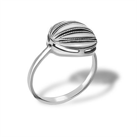 Niello Silver Ring