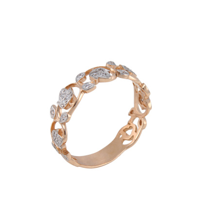 Wreath-motif Ring