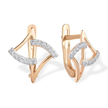 CZ Dapper Earrings