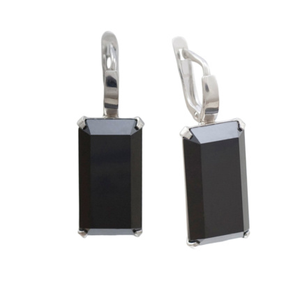 Metaphysical Black Onyx Earrings