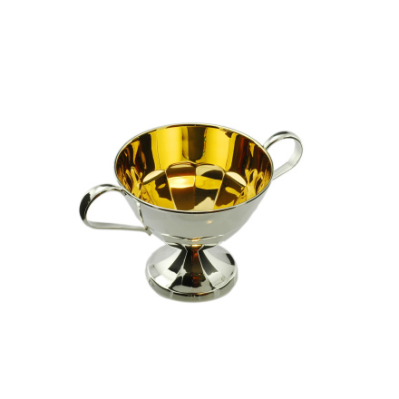 Silver Sugar Bowl-European silverware