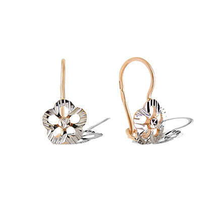 Diamond Cut Children Earrings