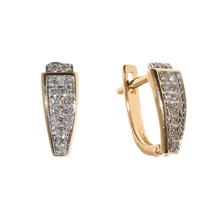 Pavé CZ Earrings