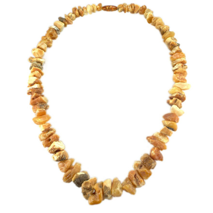 Raw Amber Necklace
