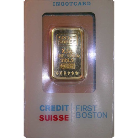 Credit Suisse Pure Gold Bar