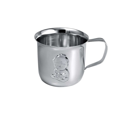 'A Kiddy Girl' Baby Silver Cup