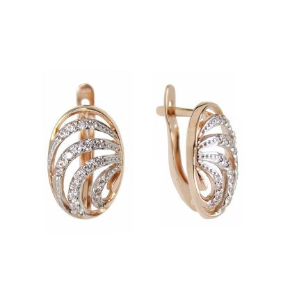 Cz Leverback Earrings Bargain
